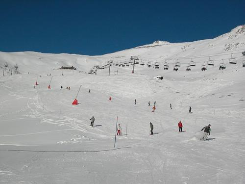 20. On the piste